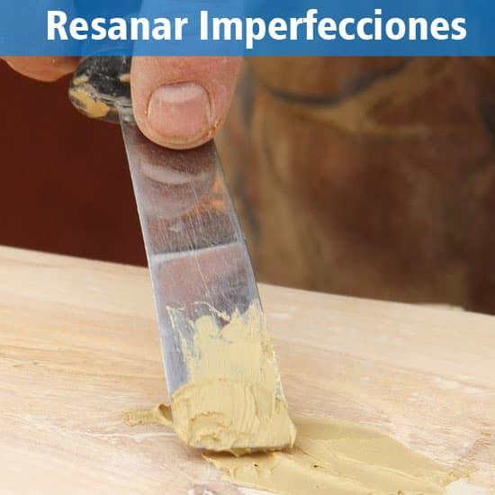 C mo lijar y barnizar una mesa de madera mi experiencia - Masilla para madera casera ...