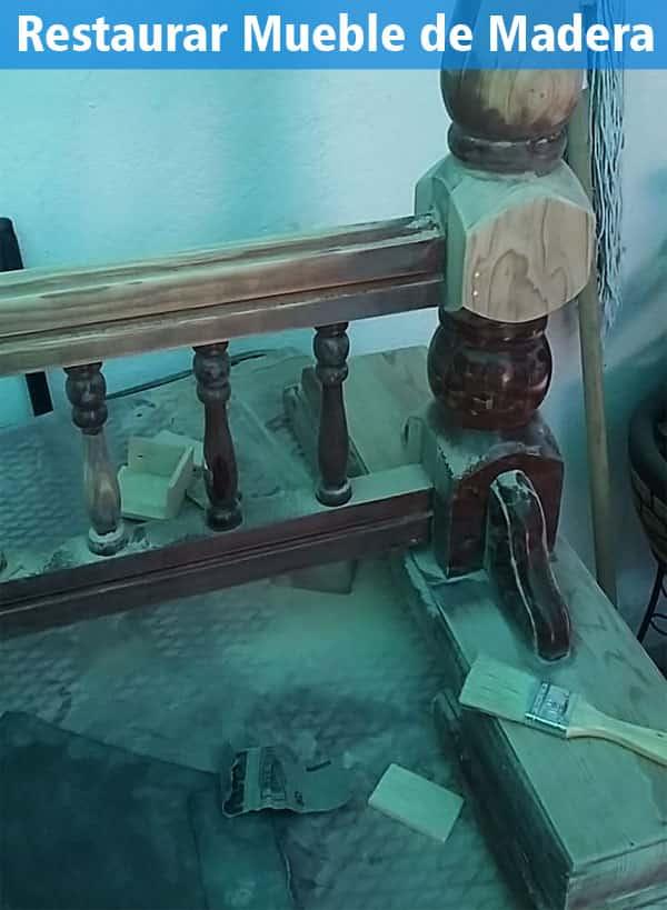como lijar una mesa barnizada con lija