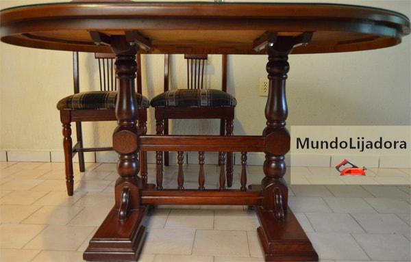 como restaurar una mesa antigua
